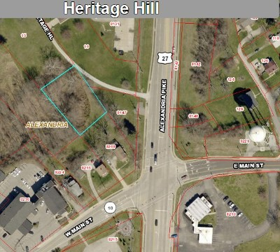 Alexandria Residential Lots & Land For Sale: Heritage Hill