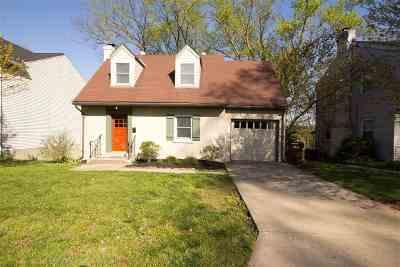 Park Hills Single Family Home For Sale: 1124 Mount Allen Road