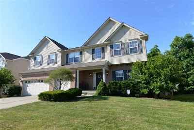 Burlington Single Family Home For Sale: 2878 Landings Way