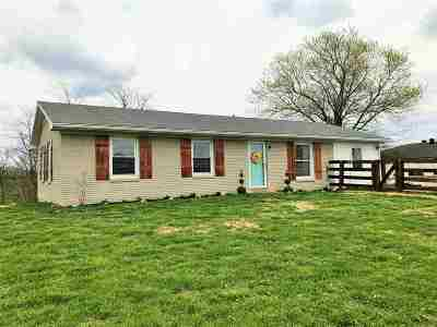 Owen County Single Family Home For Sale: 590 Old Sweet Owen Road