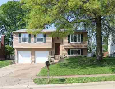 Erlanger Single Family Home For Sale: 3461 Ridgewood Drive