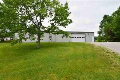 Burlington Single Family Home For Sale: 6780 E Bend Road