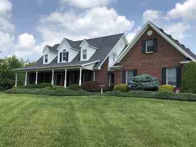 Owen County Single Family Home For Sale: 830 Ky Highway 1316