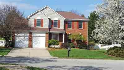 Burlington Single Family Home New: 6012 Kingsgate Drive