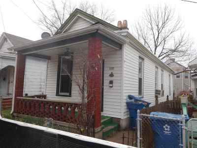 Covington Single Family Home For Sale: 1822 Pearl Street