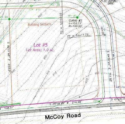 Dry Ridge Residential Lots & Land For Sale: 100 Blackburn Lot #5