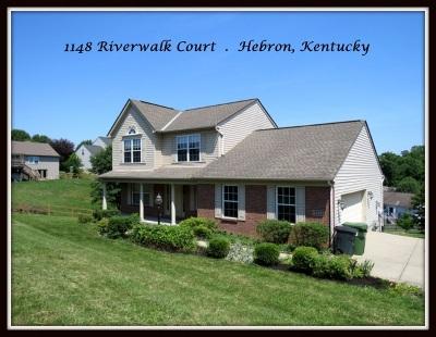 Hebron Single Family Home For Sale: 1148 Riverwalk Court
