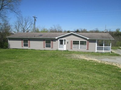 Gallatin County Single Family Home For Sale: 5481 Ky Highway 455