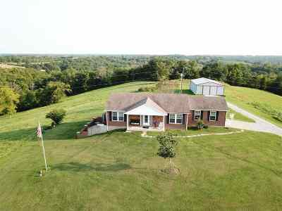 Pendleton County Single Family Home For Sale: 349 Taylor Jones Road