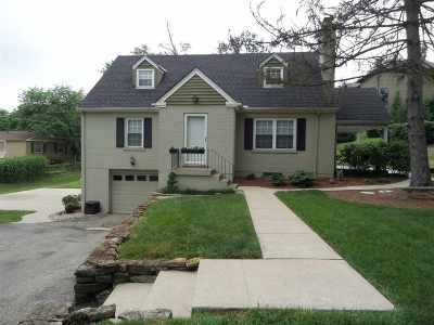 Fort Thomas KY Single Family Home For Sale: $369,900