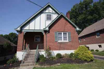 Fort Mitchell, Fort Wright Single Family Home For Sale: 103 Rosa Ave.