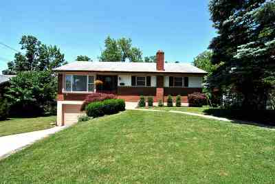 Fort Thomas KY Single Family Home For Sale: $185,000