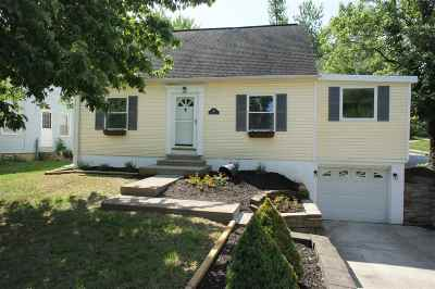 Fort Thomas KY Single Family Home New: $259,900