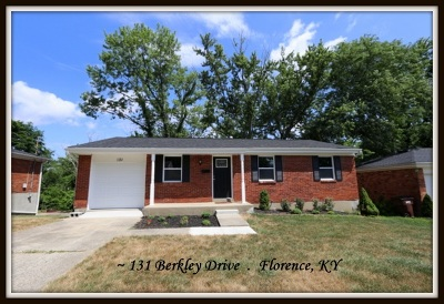 Florence Single Family Home New: 131 Berkley Drive