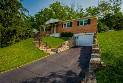 Newport Single Family Home For Sale: 25 Woodlawn Terrace