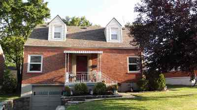 Taylor Mill Single Family Home For Sale: 5 Doris Drive