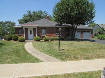 Fort Thomas KY Single Family Home New: $309,000