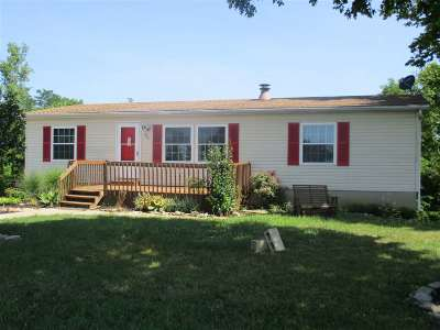 Pendleton County Single Family Home For Sale: 80 Brewer Road