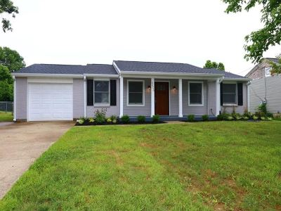 Burlington Single Family Home New: 6466 Southgate Place
