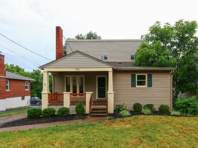 Erlanger Single Family Home New: 303 Hallam Avenue