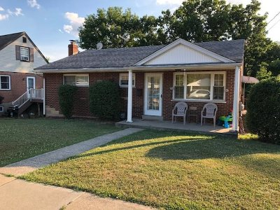 Fort Thomas KY Single Family Home For Sale: $164,000
