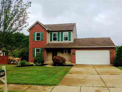 Burlington Single Family Home For Sale: 2624 Burdsall Drive