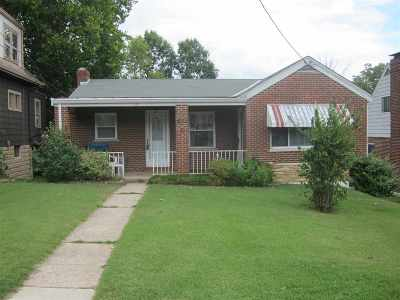 Fort Thomas KY Single Family Home For Sale: $129,500