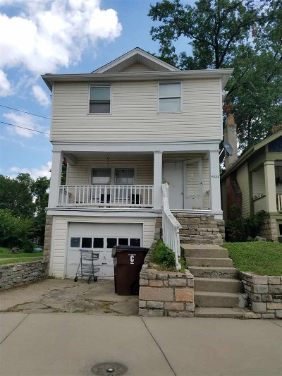 Campbell County, Kenton County, Boone County, Grant County, Pendleton County Multi Family Home For Sale: 4332 Glenn