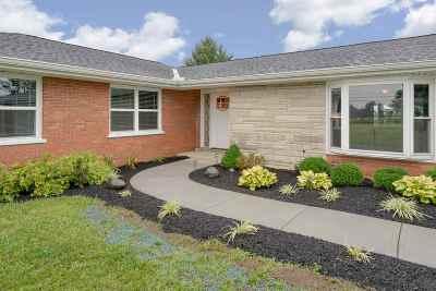 Burlington Single Family Home New: 6980 East Bend Road