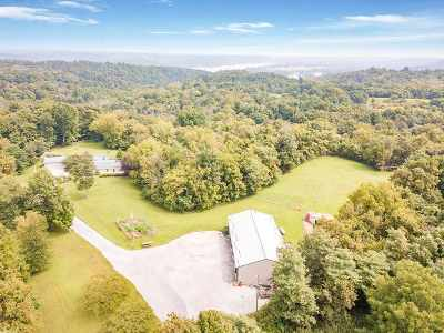 Boone County, Campbell County, Gallatin County, Grant County, Kenton County, Pendleton County Single Family Home For Sale: 1039 Gridley Hill Road