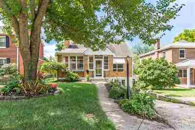 Fort Mitchell Single Family Home For Sale: 47 Thompson Avenue