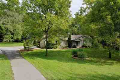 Petersburg Single Family Home For Sale: 3396 Ashby Fork Road