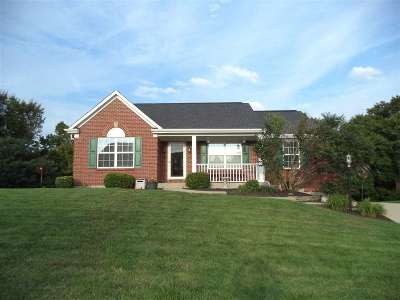 Burlington Single Family Home For Sale: 2606 Spring Mill Place