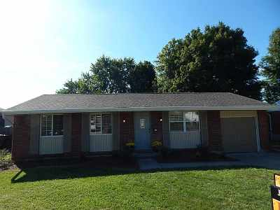 Florence Single Family Home For Sale: 7105 Manderlay Drive