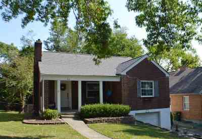 Fort Mitchell Single Family Home For Sale: 60 Burdsall Avenue