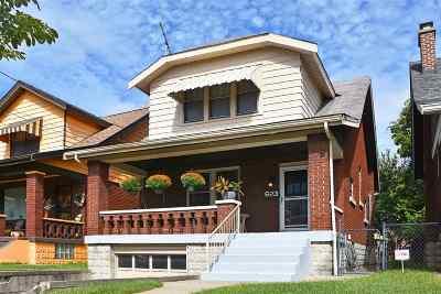 Newport Single Family Home For Sale: 623 Oak Street
