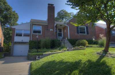 Fort Mitchell Single Family Home For Sale: 44 Thompson Avenue