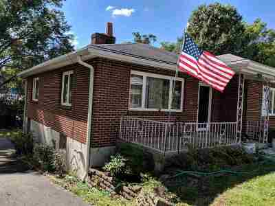 Fort Thomas KY Single Family Home For Sale: $190,000