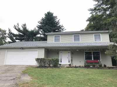 Florence Single Family Home For Sale: 862 Mt. Zion