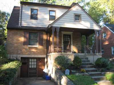 Fort Thomas Single Family Home For Sale: 27 Edwards Court