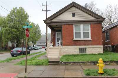 Covington Single Family Home For Sale: 1739 Banklick Street