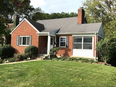 Fort Mitchell, Fort Wright Single Family Home For Sale: 1302 E Henry Clay Avenue