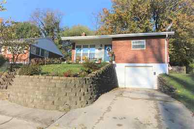 Fort Thomas KY Single Family Home For Sale: $205,000