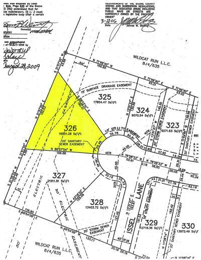 Boone County Residential Lots & Land For Sale: 12495 Sheppard Way