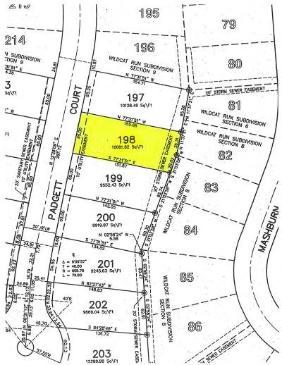 Walton Residential Lots & Land For Sale: 12328 Padgett Court