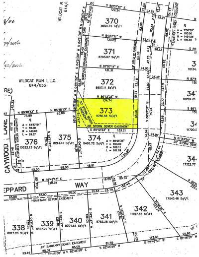 Boone County Residential Lots & Land For Sale: 12427 Sheppard Way