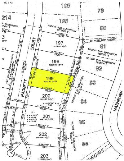 Walton Residential Lots & Land For Sale: 12332 Padgett Court