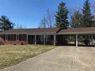 Dry Ridge Single Family Home For Sale: 24 Ridge View