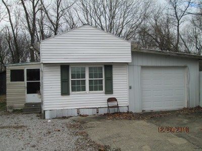 Owen County Single Family Home For Auction: 35 Eagle Creek