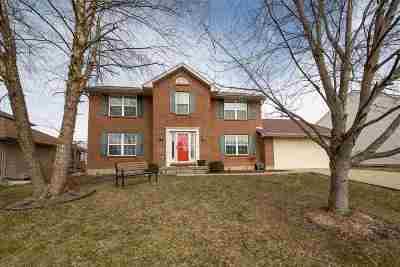 Burlington Single Family Home For Sale: 2048 Bluestem Drive